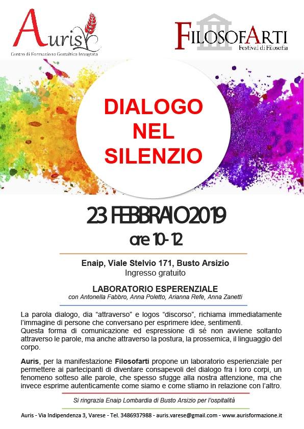 Dialogo nel silenzio